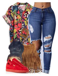 """Hold up, they don't love you like I love you."" by cheerstostyle ❤ liked on Polyvore featuring Puma"
