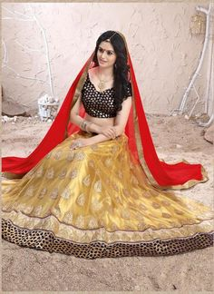 Traditional Bridal Indian Wedding Choli Bollywood Pakistani Ethnicwear Lehenga…