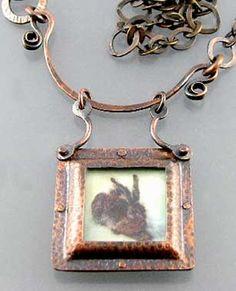 Nancy L. T. Hamilton The (Not So) Lazy Jewelry presents Basic Riveting Techniques. Nancylthamilton.com
