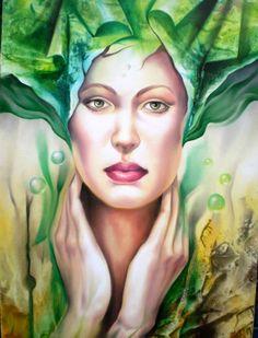 Artodyssey: Carlos Queiroz Woman Painting, Artist At Work, Art Google, Modern Art, Contemporary, Surrealism, Illustration Art, Princess Zelda, Sculpture
