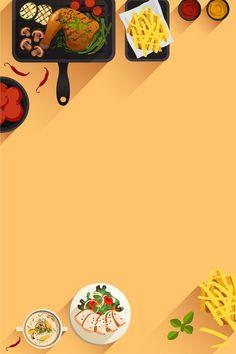 Flache Hand Im Fast Food Restaurant Poster Hintergrund food poster – Dinner Food Food Background Wallpapers, Food Wallpaper, Food Backgrounds, Vector Background, Background Images, Food Graphic Design, Food Menu Design, Food Poster Design, Flyer Design