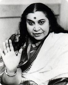 Shri Mataji. Amazing woman! I can't wait to attend the meditation class she created at Sahaja Yoga in Atx