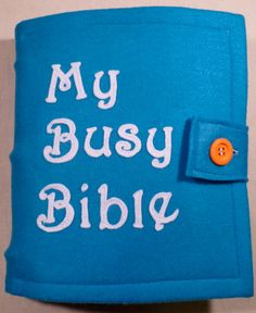 Busy Bible Busy Book 12 pages di BusyBlessings su Etsy
