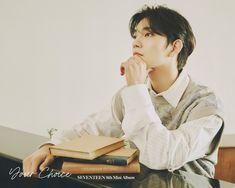 Joshua Seventeen, Seventeen Album, Vernon Seventeen, Choi Hansol, Won Woo, Joshua Hong, Pledis 17, Pledis Entertainment, Mini Albums