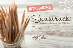 1. Sunstruck - a blond twist on my favorite brightly colored Harmony wood needles!
