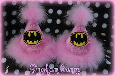 Batgirl birthday hat