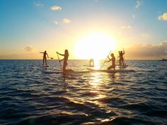 Here are a few new things to do in Barbados - Paddleboarding at sunset. http://on.fb.me/Liu9Xz