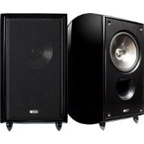 KEF Bookshelf Speaker (Gloss Black) (sold as pair) Speaker Mounts, Monitor Speakers, Bookshelf Speaker Stands, Floor Standing Speakers, Audio, Black, Black People, Monitor Speaker Stands