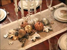 Thanksgiving season trends, ideas and inspirations for unique and elegant decorations and fall table and home setting. Description from pinterest.com. I searched for this on bing.com/images