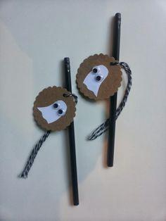 A Spoonful of Crafts: Halloween blyanter / Halloween Pencils