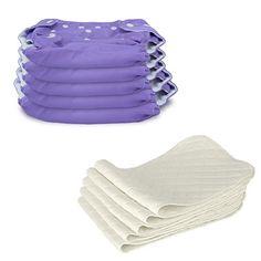 5 Stück Wiederverwendbare Waschbare Verstellbar Babywindeln Baby Windelhose Baby-Tuch-Windel Weicher Stoff, Größe Verstellbar (Lila) Dazone http://www.amazon.de/dp/B015W6X0XU/ref=cm_sw_r_pi_dp_VjgNwb030319W