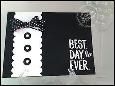 Is this dapper or what? I wanted to share a 2-Minute Tuesday Tip on using the Bow Builder punch and my finished bow reminded me of a card I created WAAAAY back when (if 2012 is way back when). Th...