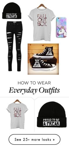 """""""everyday outfit"""" by couldyounottt on Polyvore featuring Converse"""
