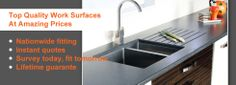 Worktops have a huge part in the appearance of the kitchen. They're fundamentally the center of attraction in the area. The shapes and sizes of these solid surface worktops differ. Granite Worktops Uk, Solid Surface Worktops, Granite Suppliers, Work Surface, Work Tops, Confusion, Knives, Attraction, Kitchens