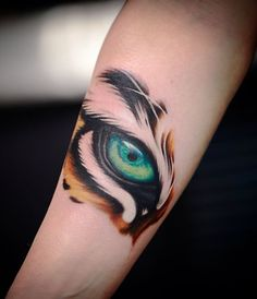 Eye Tattoo Designs Meanings Fresh Tiger Tattoos Meaning and Design Ideas Badass Tattoos, Funny Tattoos, Body Art Tattoos, New Tattoos, Girl Tattoos, Small Tattoos, Sleeve Tattoos, Tatoos, Tiger Forearm Tattoo