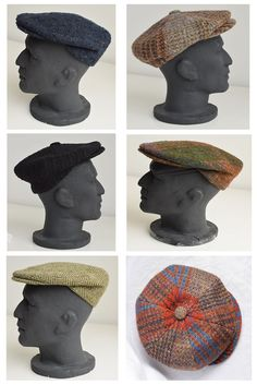 We have a variety of handwoven caps at Studio Donegal Donegal, Caps Hats, Hand Weaving, Men's Fashion, Studio, Accessories, Moda Masculina, Hand Knitting, Fashion For Men