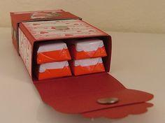 Verpackung Schokoriegel | stempelmagie.blogspot.de