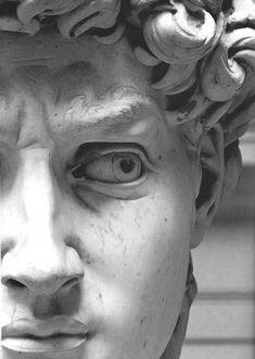 David is a masterpiece of Renaissance sculpture created between 1501 and by Italian sculptor, painter, architect, poet Michelangelo. It is a with the base marble statue of a standing nude male. Miguel Angel, The Face, Renaissance Art, Art Plastique, Oeuvre D'art, Pencil Drawings, Pencil Art, Art Drawings, Art History