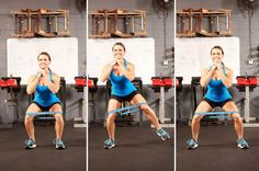 4. Banded Side Lunges