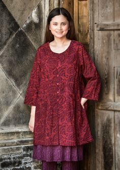"""Ibis"" tunic in cotton voile – Blouses & waistcoats – GUDRUN SJÖDÉN – Webshop, mail order and boutiques 