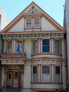 One of the Painted Ladies of San Francisco Painted ladies is a