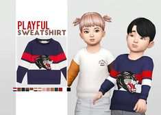 [WAEKEY] Playful Sweatshirt
