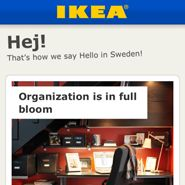 Swedish furniture retailer IKEA has rolled out an iPhone application that lets consumers browse the company's collection and find in-store items.    The IKEA iPhone app is available for free download from Apple's App Store. The app points to the growing need from retailers to enhance the in-store shopping experience with mobile features such as in-store mapping and inventory.