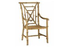 Bamboo Armchair, Natural