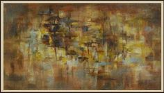 """Daily Painters Abstract Gallery: Contemporary Abstract Painting """"Aspen Weave"""" by Contemporary Realism Artist Carol A. McIntyre"""