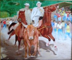 Toros Coleados, by Master Capino