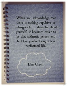 john green quote about life