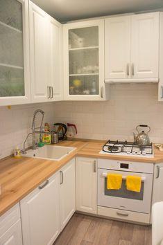 Кухня с высокими верхними шкафами - запись пользователя Rassy (id1701785) в сообществе Дизайн интерьера в категории Интерьерное решение кухни - Babyblog.ru