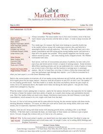 cabot market letter
