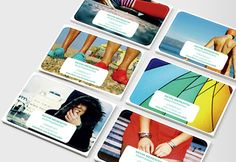 Sticky Business Cards