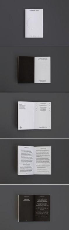 Graphic Design - minimal simplicity editorial layout