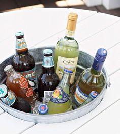 DIY: Beverage Table