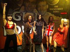 Spice Girls Madam Tussauds NY