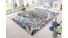 Jetzt Teppich, Ecorepublic Home, »Alicia«, handgearbeitet, Schurwolle günstig im naturloft Online Shop bestellen