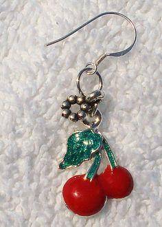 Cherry Earrings $10.00