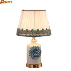92.31$  Buy here - http://alio61.shopchina.info/1/go.php?t=32816687802 - HGhomeart Modern Simple Ceramic Fashion Table Lamp Bed Bedside Lamp Decorative Living Room Adjustable Nordic Table Lamp  #aliexpresschina