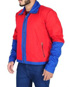 Baywatch Dwayne Johnson Red Movie Jacket Red Costume, Costumes, Baywatch, Dwayne Johnson, Celebs, Celebrities, Shirt Style, Red And Blue, Hooded Jacket