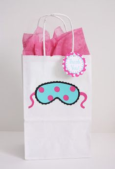 5M Creations: Hot Pink & Aqua Spa Party