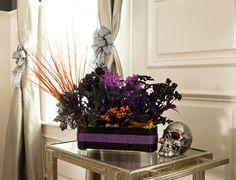 Halloween Bling Floral Arrangement