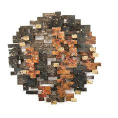 Artisan House Mondovi Wall Décor | Perigold Mosaic Wall Art, Diy Wall Art, Wood Wall Art, Wall Décor, Wooden Art, Best Abstract Paintings, Abstract Wall Art, Metal Wall Sculpture, Wall Sculptures
