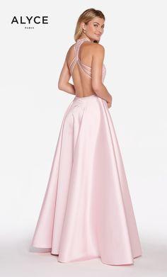 84edbb6745a Alyce Paris Prom Style   60060. Long Mikado Full Skirt w  sleeveless