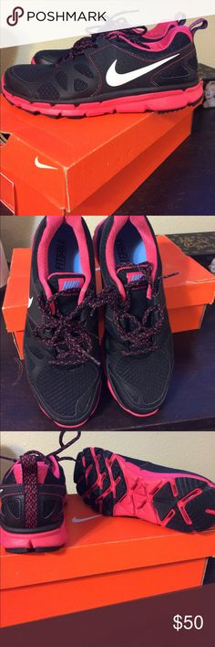 New Nike shoes New with box women's Nike flex trail shoes size 8.5.  Brand new never worn Nike Shoes Athletic Shoes