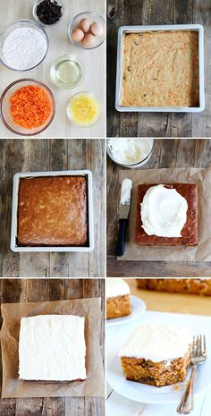 Entenmann's-Style Gluten Free Iced Carrot Cake, Step by Step