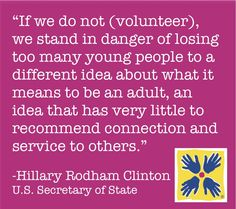 This #MDDay12, let's show the next generation the importance of volunteering.