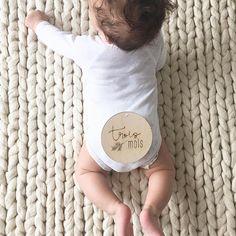Simplement mignon! Pastilles jalons en bois, disponibles en français ou en anglais sur ma boutique 💛 Little cutie!…