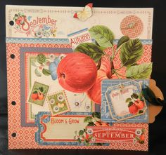 September Page -  A time to Flourish by Jan Kruger